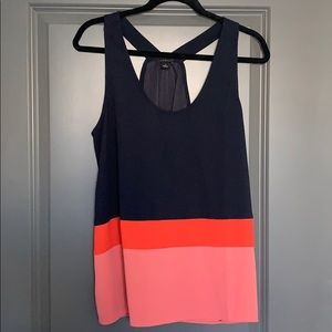 Ann Taylor color-blocked tank